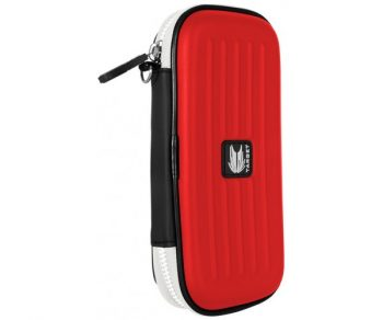 target takoma dart case wallet black red closed