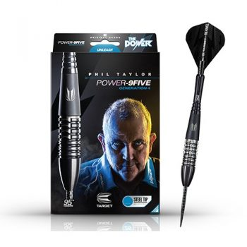 phil taylor power 9five gen4 steel tip darts