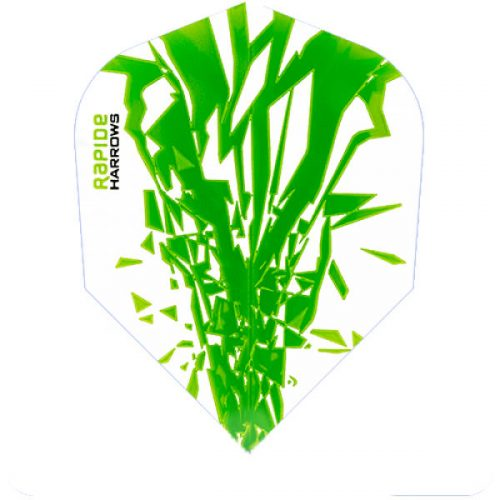 harrows rapide dart flights standard green