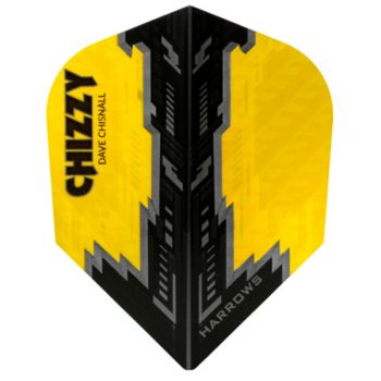 harrows dave chizzy chisnall prime flights yellow black