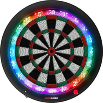 granboard 3s softip dartboard green